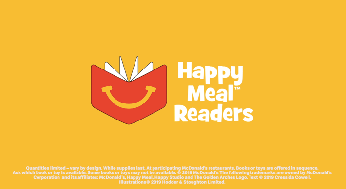 Expanding Our Happy Meal Readers Program Mcdonald S Corporation Happy Meal Readers Happy