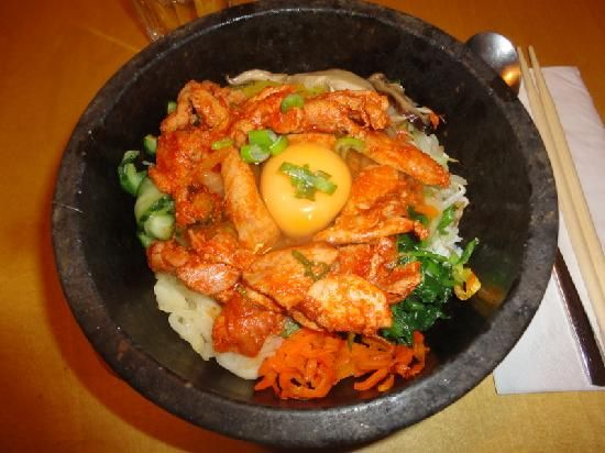 Bi Bim Bap Soho Add to trip 11 Greek Street, London W1D 4DJ, England (Westminster / Belgravia) 02072873434