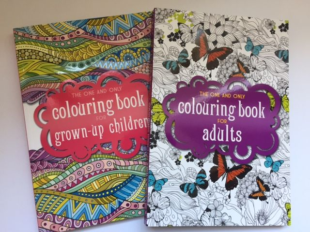 Colouring Books For Adults Review
