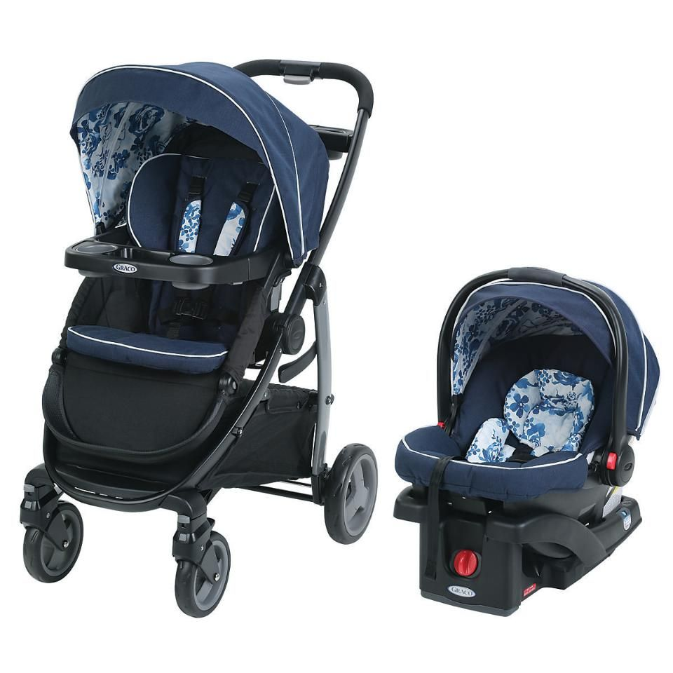 Graco Modes Click Connect Stroller Travel System Tessa