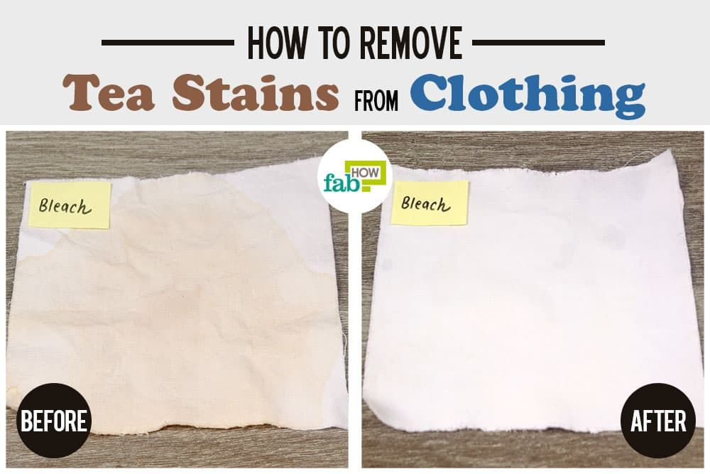 How To Remove Tea Stains