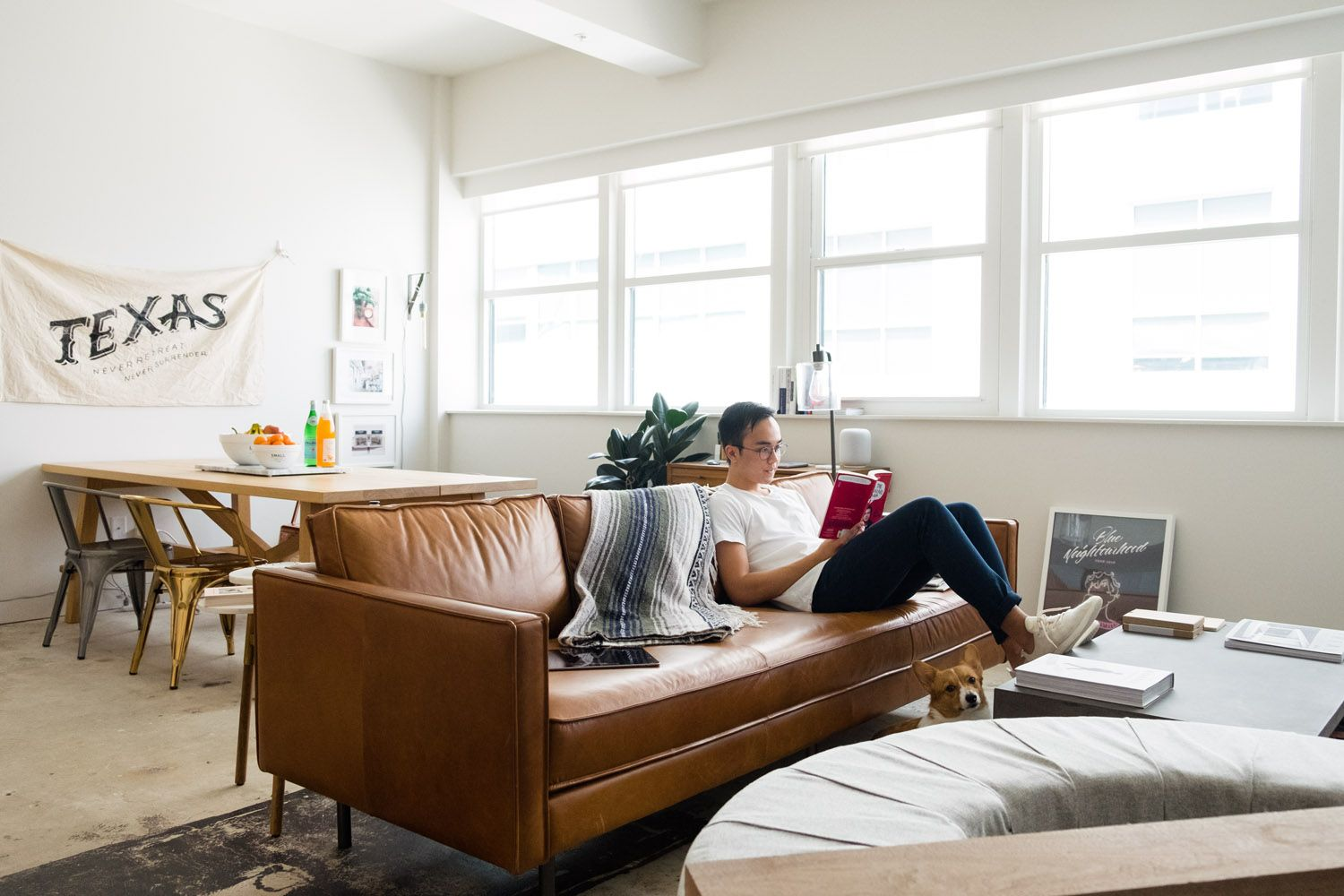 west elm Industrial Style In A Modern Baton Rouge
