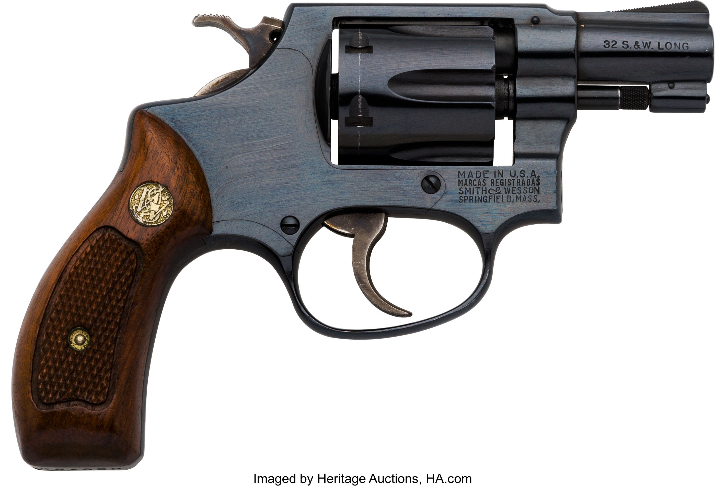 Smith & Wesson Model 30-1 Double Action Revolver. Serial no. H20490 ...