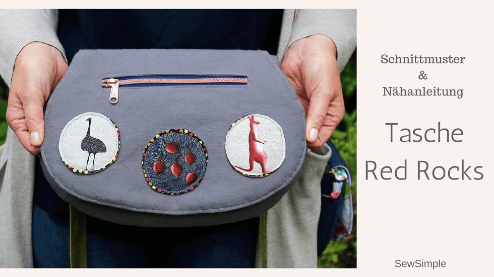 Anleitung: Tasche Red Rocks nähen | Schnittmuster