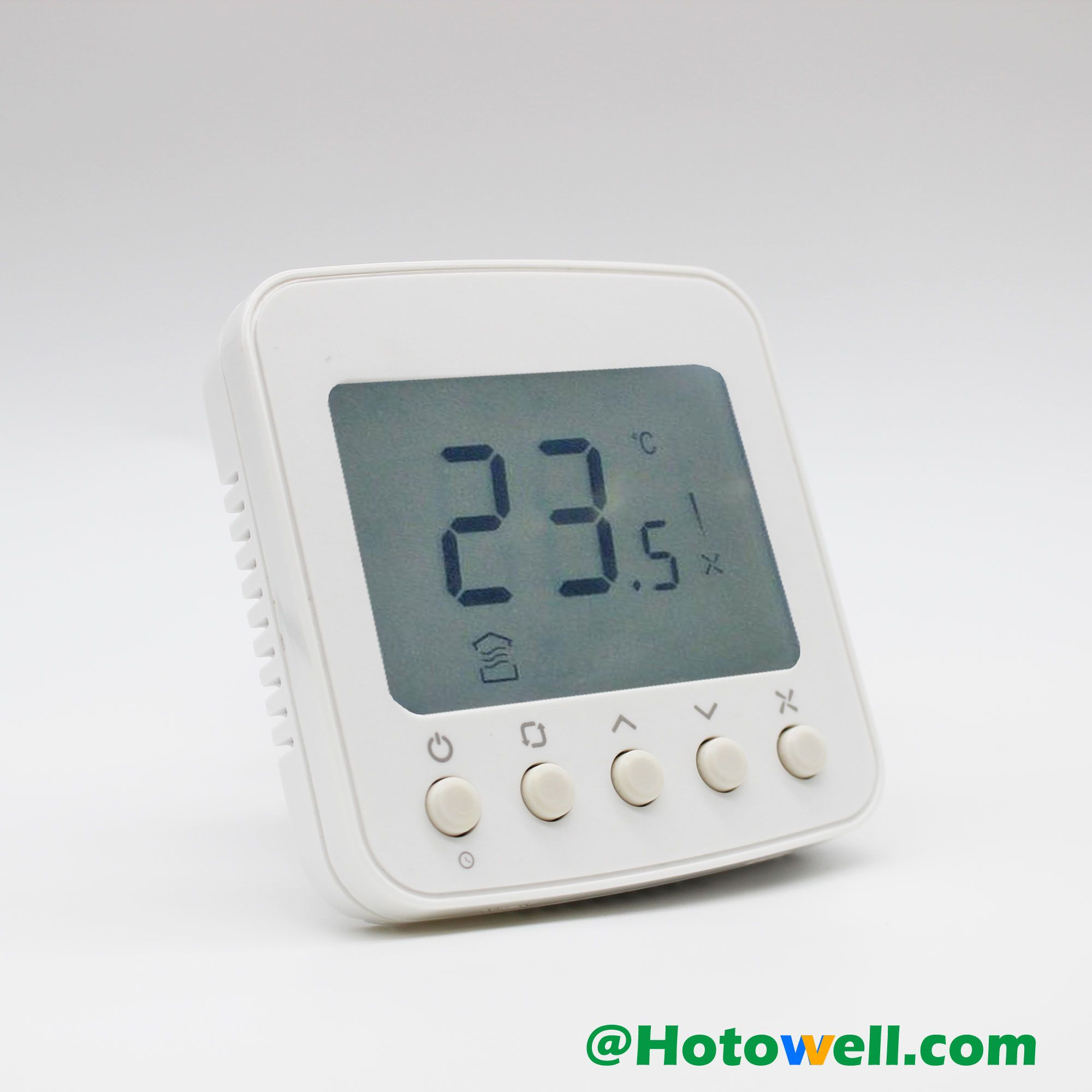 The Tf228wn Digital Thermostat Is Designed For 3 Speed Fan And