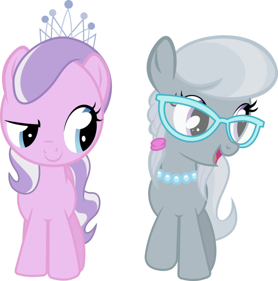 My little pony coloring pages silver spoon - My Little Pony Diamond Tiara Silver Spoon