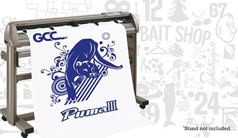 Gcc Puma Iii 24 Quot Cutting Plotter Heat Press Amp Vinyl