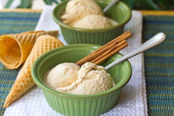 Caramel Apple Frozen Yogurt