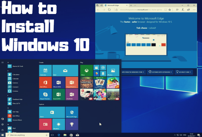 Learn this guide and ways to #install Windows 10 on your #PC with