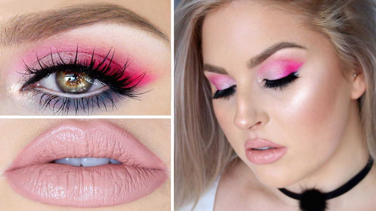 Beauty Killer Tutorial ♡ Colorful Hot Pink, Lilac & Teal Eyes!