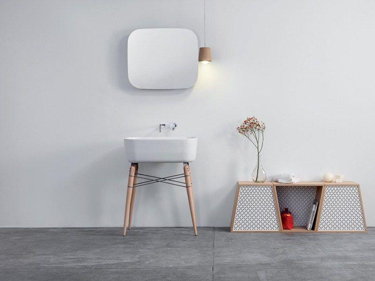Specchio con contenitore per bagno ray mirror by ex t design