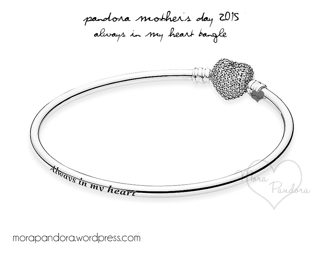 4a2f6aa4e Review: Always in my Heart LE Bangle from Pandora Mother's Day 2015 ...