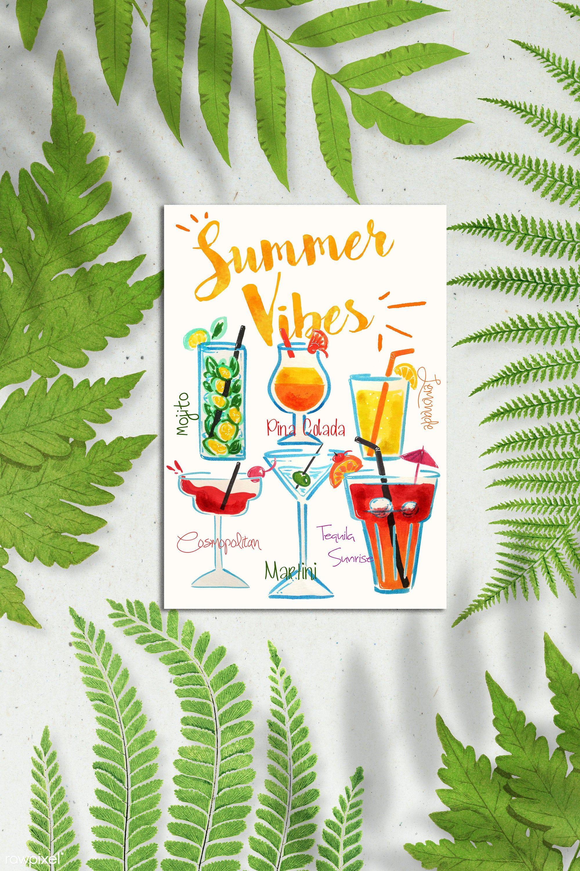 Coctails Clipart Vector Cocktails Clipart Cocktail Clipart