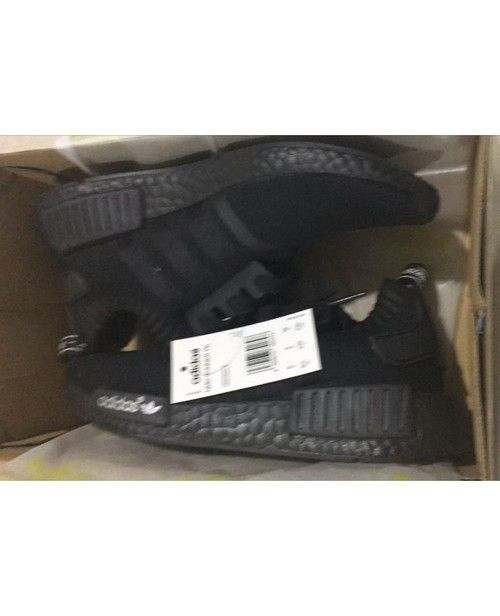 eaa66bb4c3ed Unisex Adidas Originals NMD 2016 All Black Running Trainers - NMD Runner -  Adidas - NMD Runner