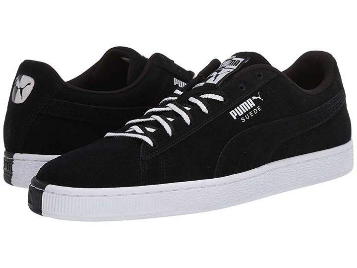 Puma Suede Classic Other Side | Puma suede, Black shoes