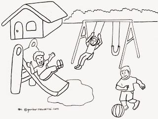 Freewaremini Warna Sekolah Buku Mewarnai Kartun