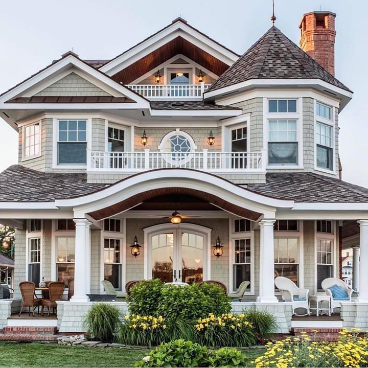 New Victorian Dream House Exterior Dream Home Design House Plans