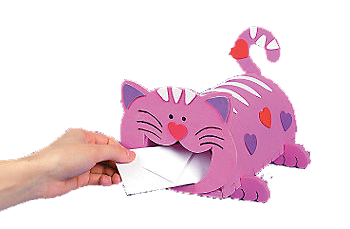 Cat Valentine Box Ideas Free Printable | Cat Valentine Box Ideas