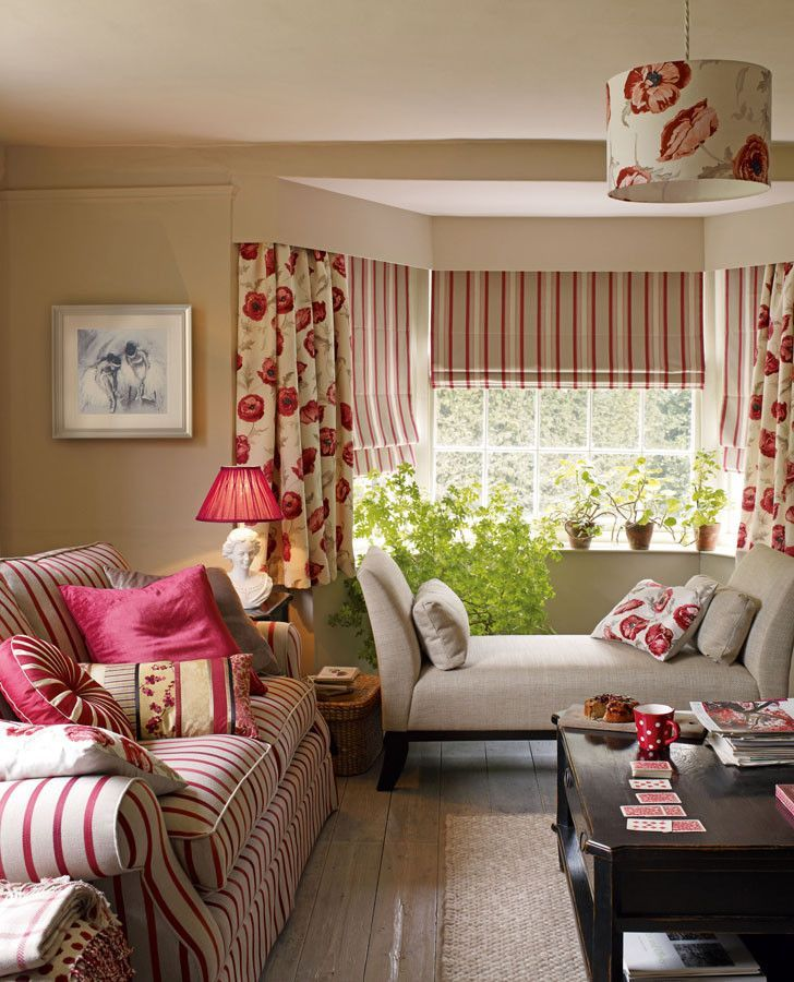 Luxford Stripe Cranberry Upholstery Fabric Curtains Living Room New Living Room Beige Room
