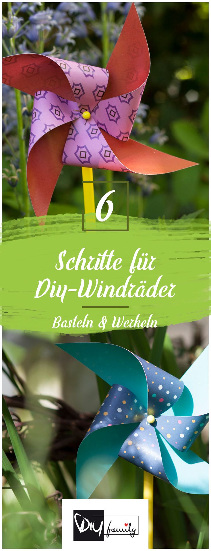 Photo of Stylische Windräder im Retro-Look #retro, #summer, #garden, #windy, #pattern,