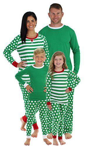 Sleepyheads Green Dot Family Matching Pajama Set-Men\u0027s (S