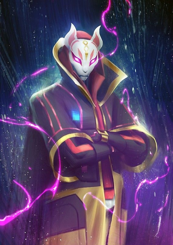 How To Draw Drift Fully Upgraded Fortnite Learn How To Draw
