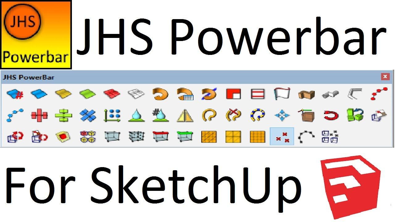 Jhs Powerbar For Sketchup Complete Guide Vorlagen Tattoo Vorlagen