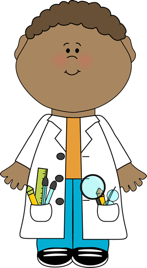 child scientist clip art image child scientist wearing a lab coat rh pinterest com scientist clip art free scientist clipart png