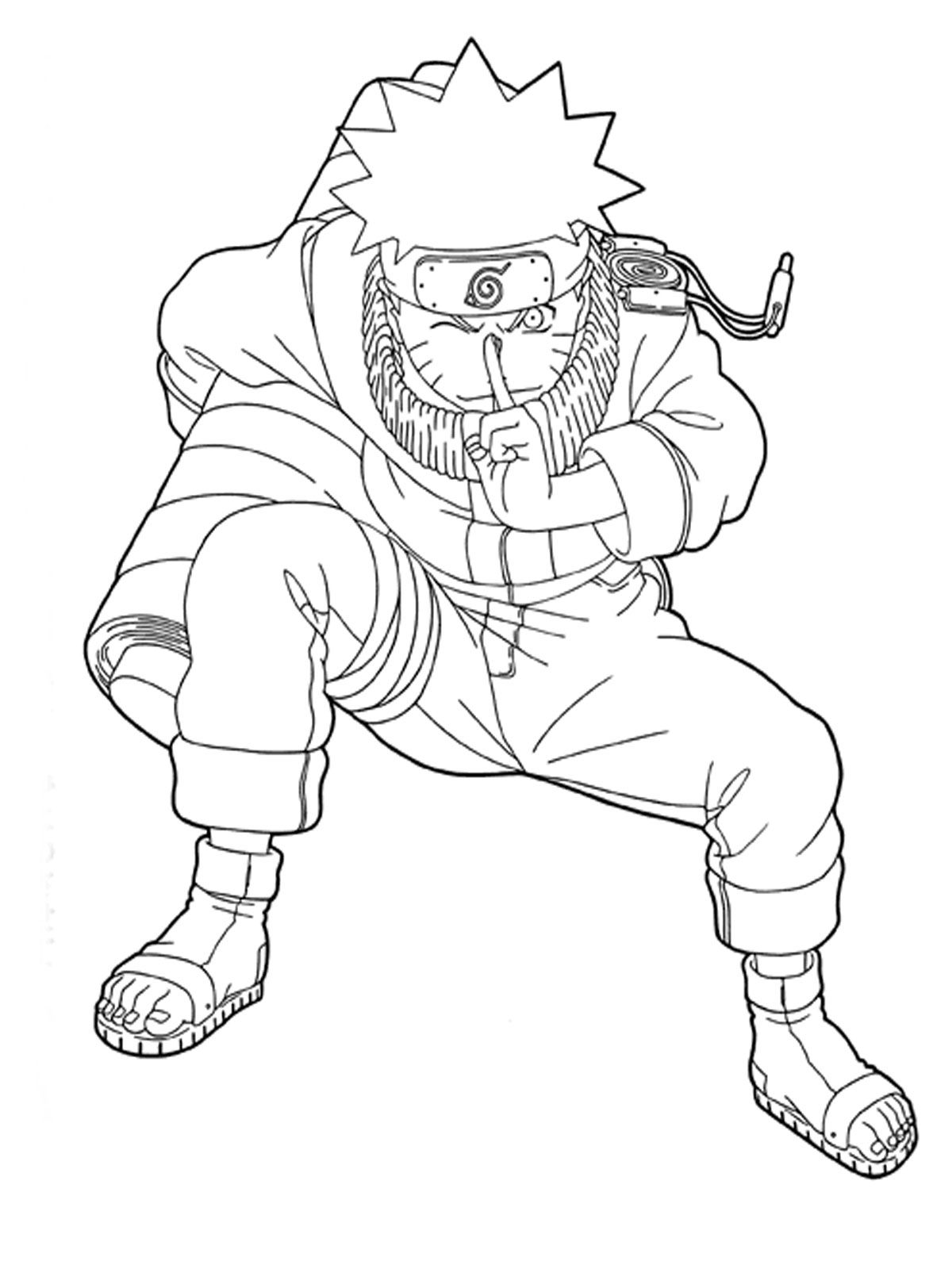 Naruto Printable Coloring Pages http//freecoloringpage