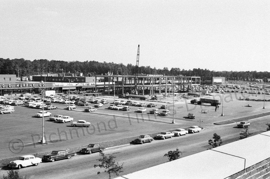 In June 1960, Willow Lawn shopping center was expanding