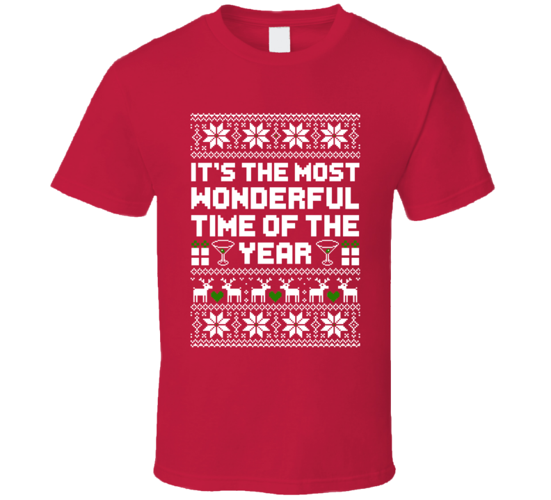 It\'s The Most Wonderful Time Of The Year Ugly Christmas Sweater ...