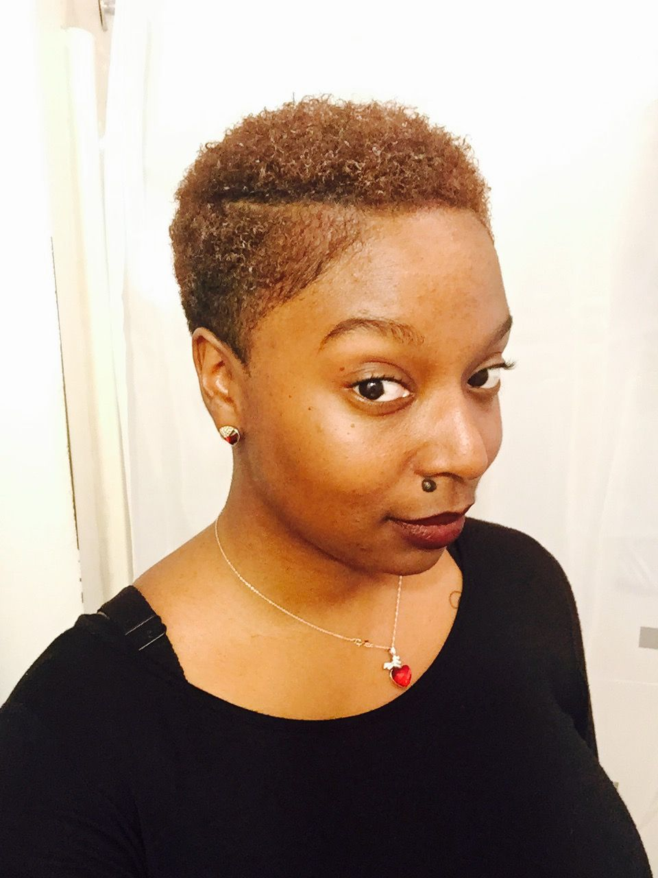 Tapered Twa With Side Part 4c Natural Hair Natural Hair Styles Afro Hairstyles