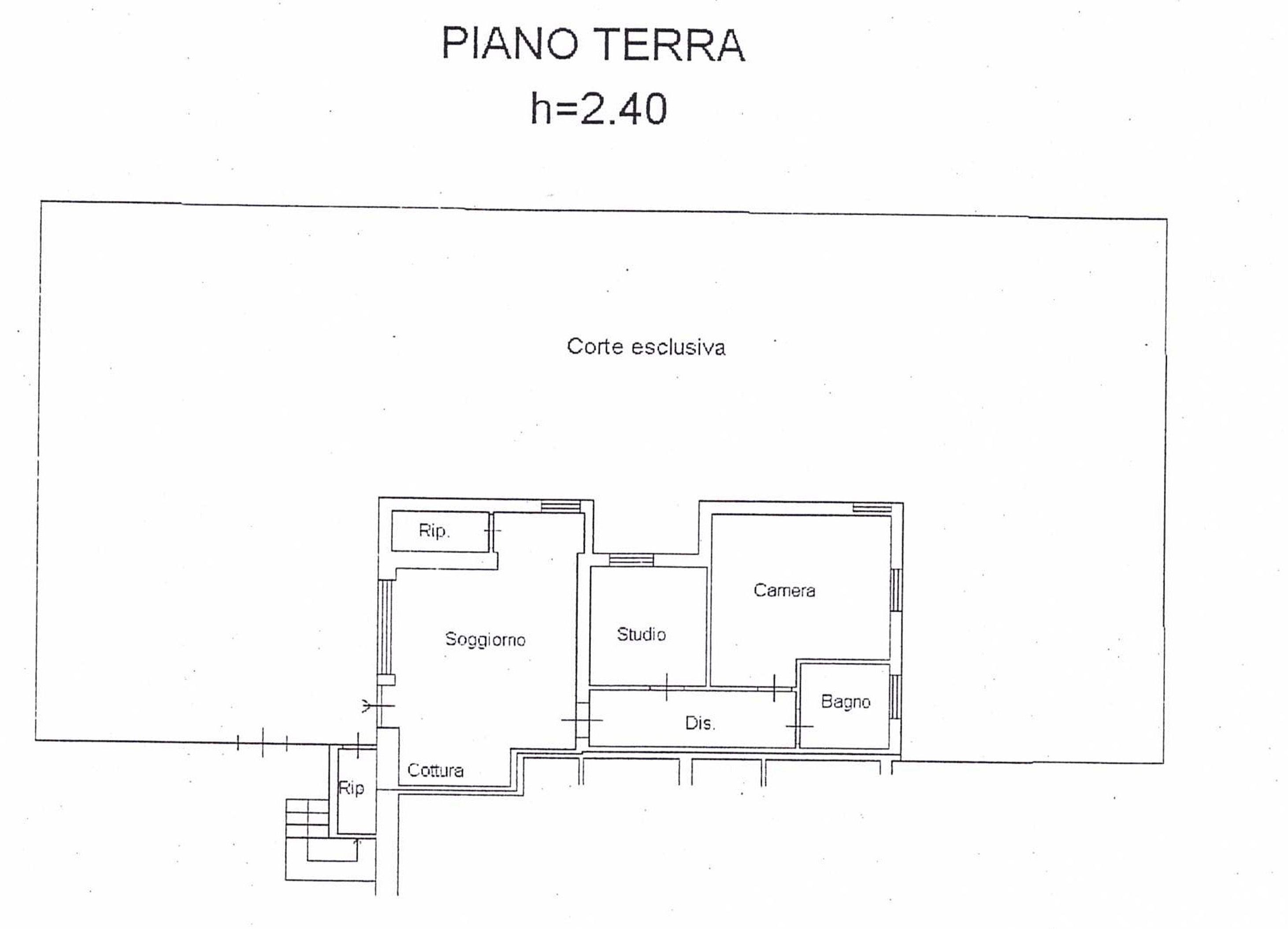 soggiorno con angolo cottura, camera, studio, bagno, ripostiglio ... - Foto Soggiorno Con Angolo Cottura 2