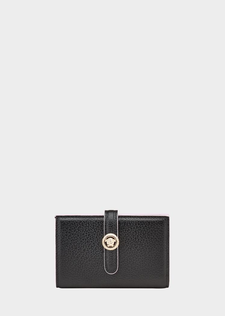 selezione migliore c863b 04f06 Portafoglio in pelle con Medusa - Versace Donna   Shop ...