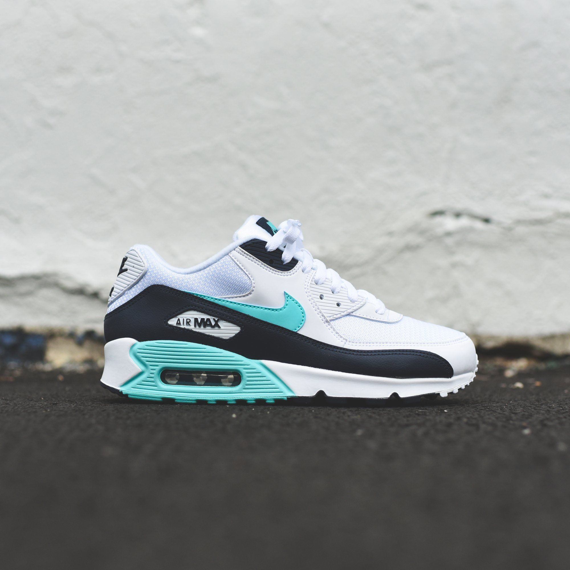 Nike Air Max 90 Essential White Aurora Green – Kith