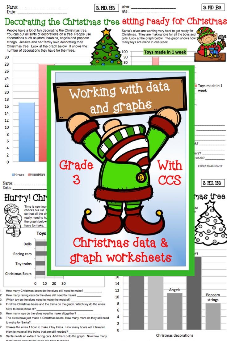 Christmas Holiday Themed Math Data And Graph Printables Worksheets Aimed At A Christmas Math Christmas Math Worksheets Kindergarten Christmas Math Worksheets [ 1102 x 735 Pixel ]