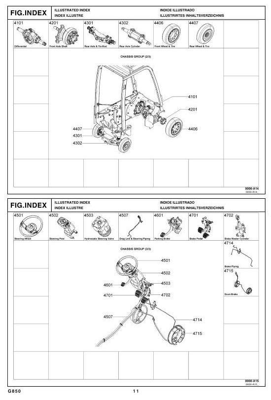 toyota lpg forklift type 8fgcsu20 8fgcu15 8fgcu18 parts manual rh pinterest com 7fgu25 toyota forklift wiring diagram toyota forklift diagnostics