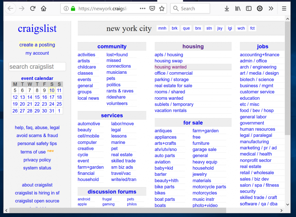 Top 5 Websites Like Craigslist To Buy And Sell Stuff Online Looking For Websites Like Craigslist In This Guide Things To Sell Engineering Classes Craigslist