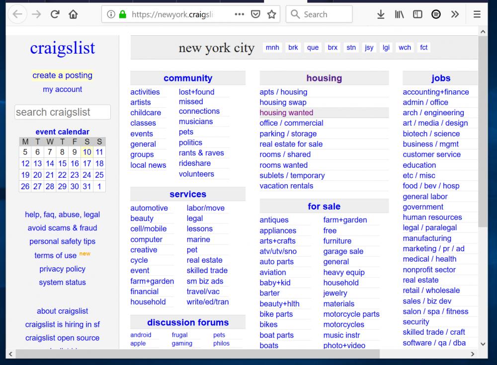 Websites Like Craigslist My Top 5 Craigslist Alternative Websites Engineering Classes Things To Sell Website