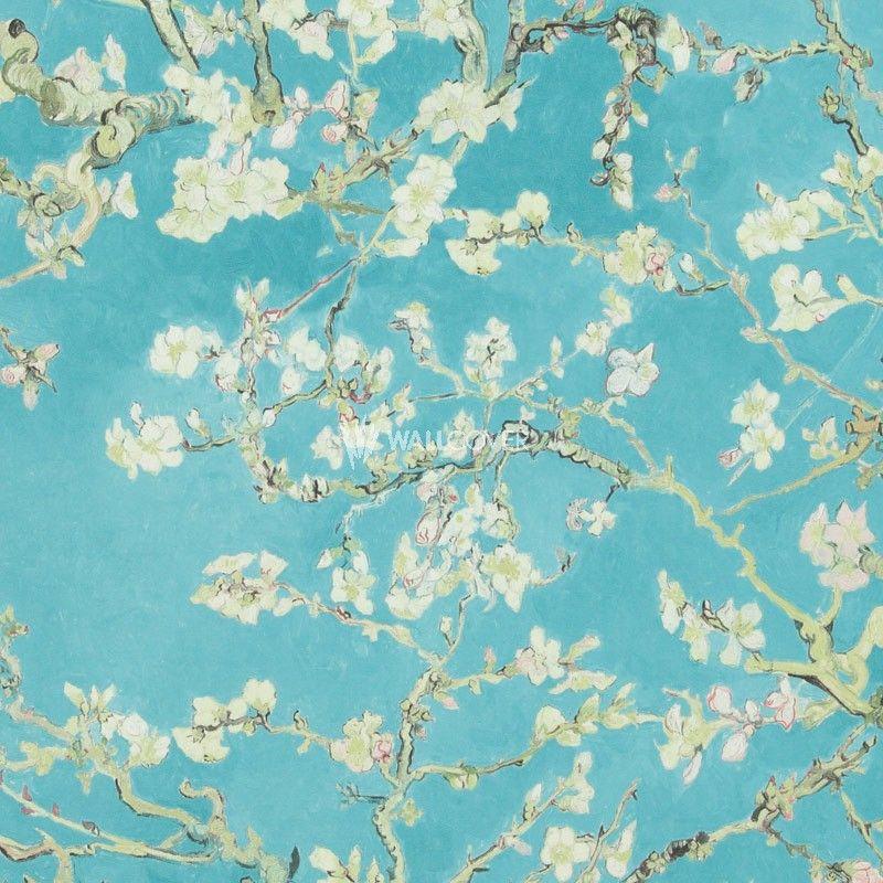 Van Gogh Tapete 17140 jetzt online kaufen! ✓ Farbe Türkis - tapeten und farben