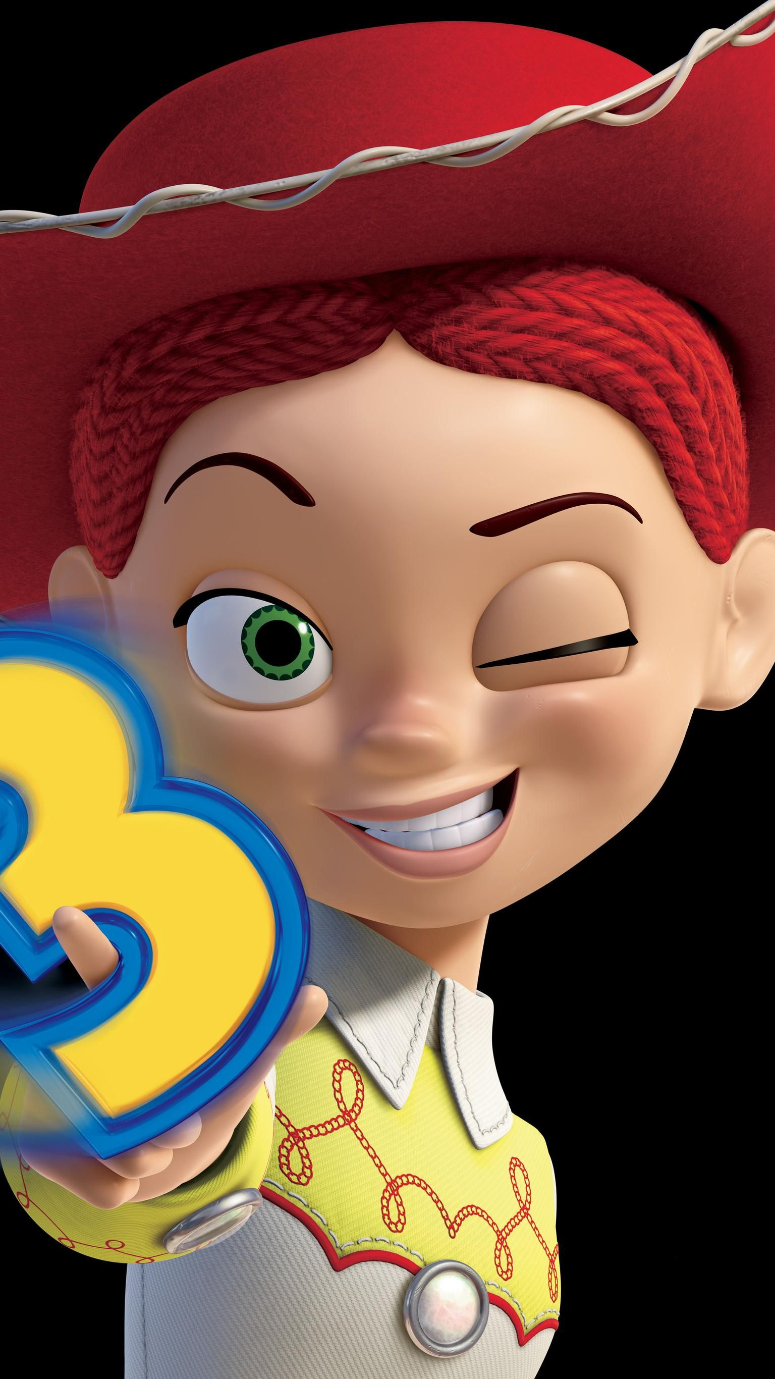 Toy Story 3 2010 Phone Wallpaper Moviemania Jessie Toy Story Toy Story 3 Toy Story 3 Movie