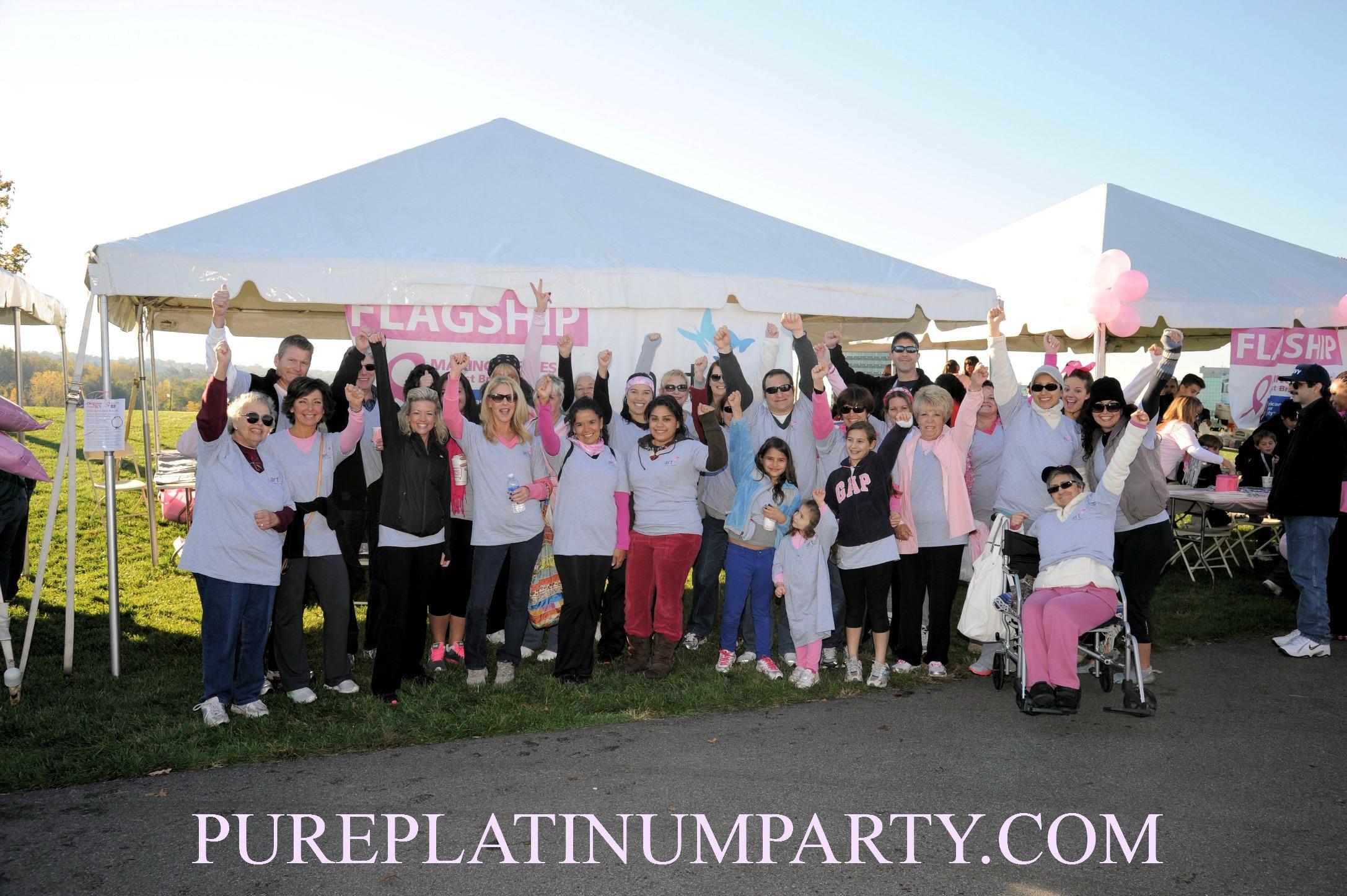 Making Strides against Breast Cancer Walk, Overpeck Park, Ridgefield