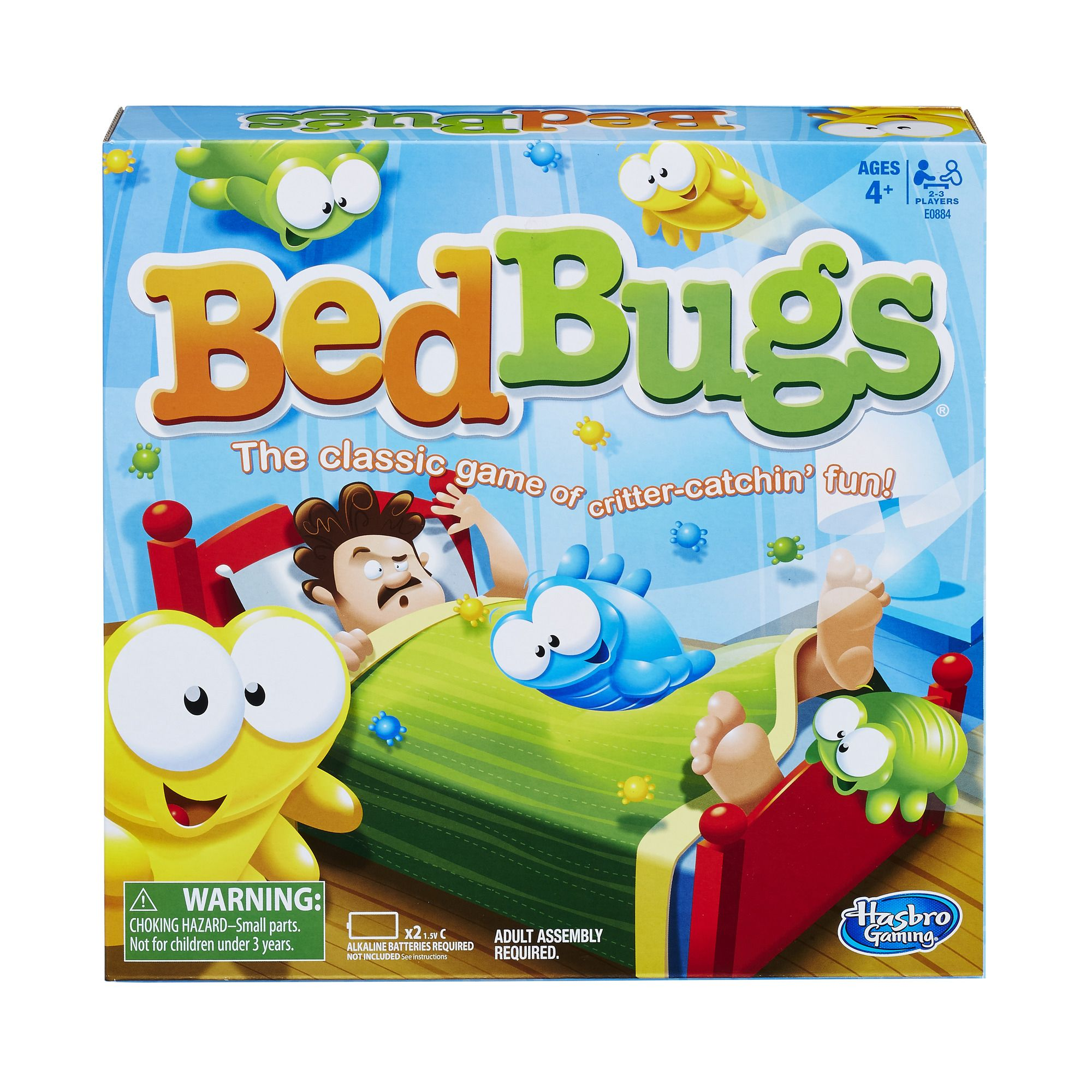Hasbro Bed Bugs Game Bug games, Bed bugs, Family board games