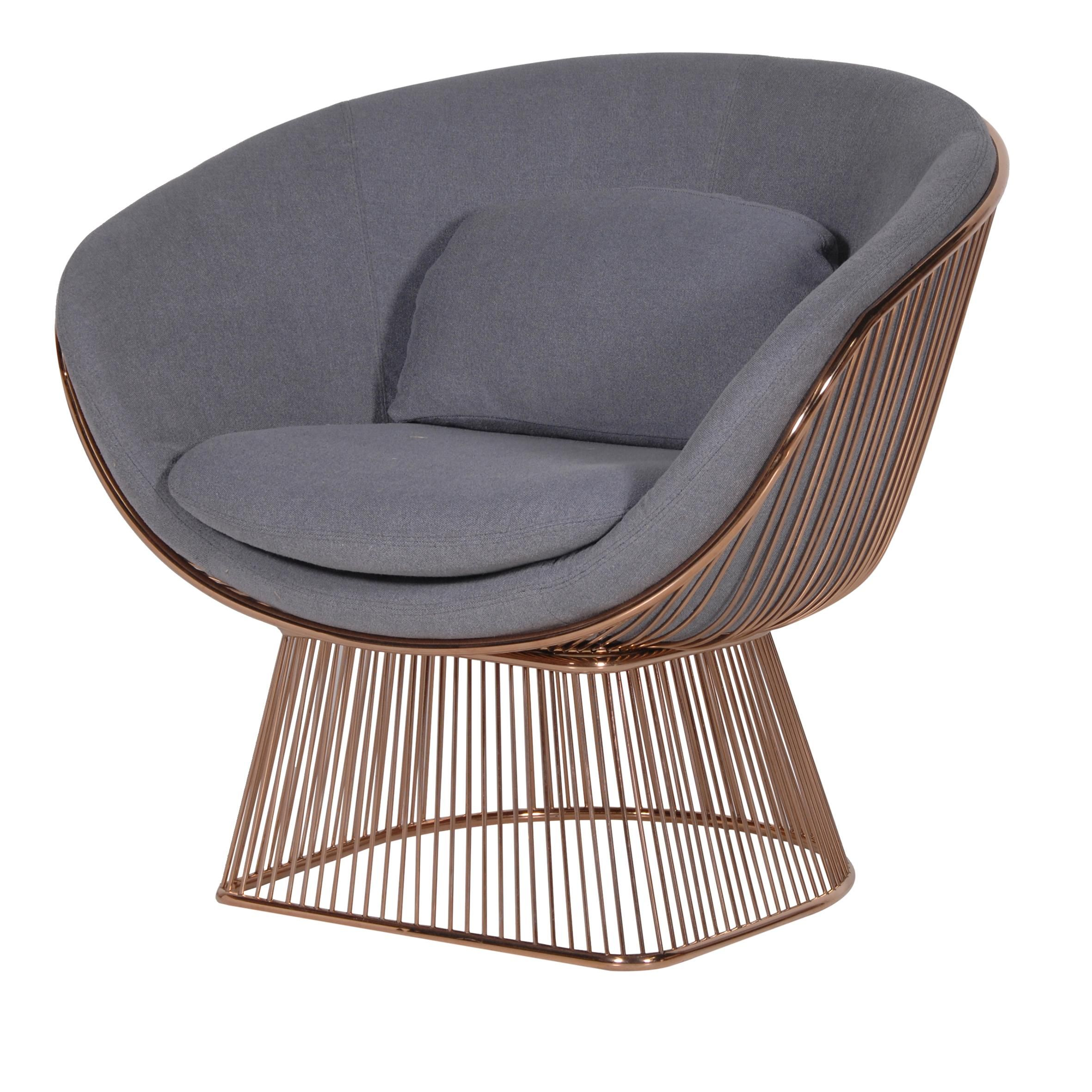 Gold Wire Armchair
