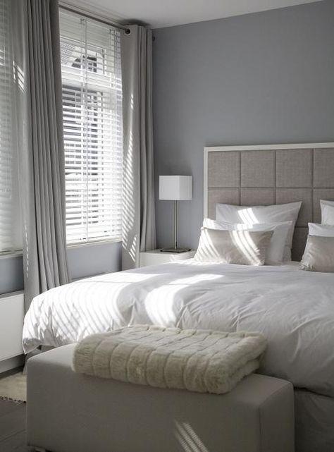 Raamdecoratie & kleuren voor in master bedroom | slaapkamer ...