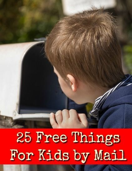Free stuff for kids by mail