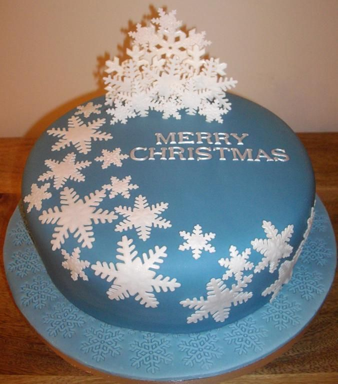 25 Easy Christmas Cake Decorating Ideas Christmas cake ...
