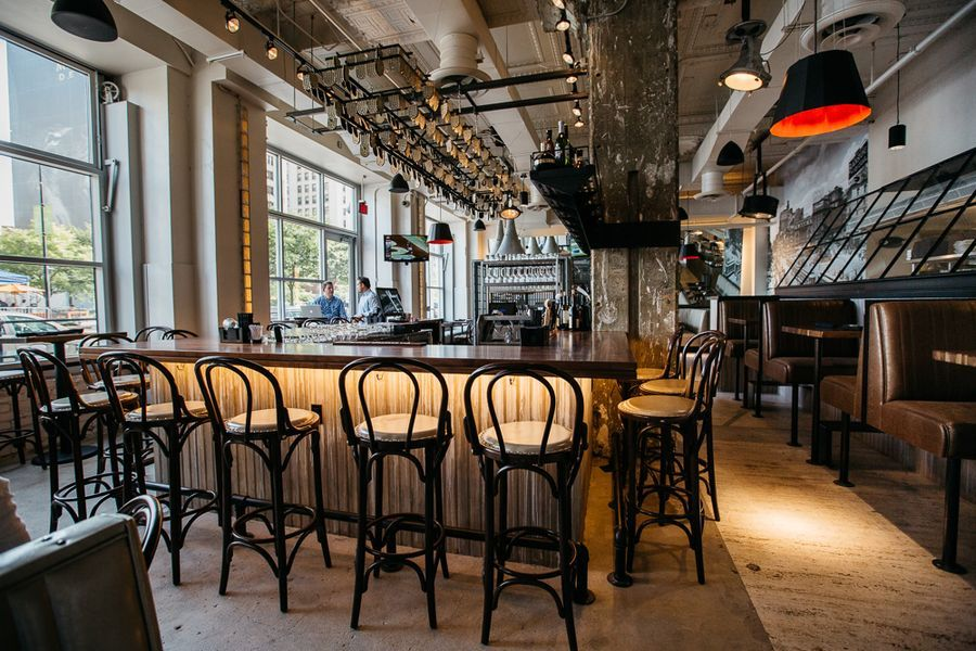 Behold Central Kitchen Bar Downtown S Slick New Gastro Bistro Kitchen Bar Central Kitchen Restaurant Decor