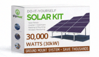 30kw 30000w Solar Panel Ground Mount Installation Kit Solarenergy Solarpanels Solarpower Solarpanelsforhome Solar Solar Kit Solar Energy Panels Solar Panels