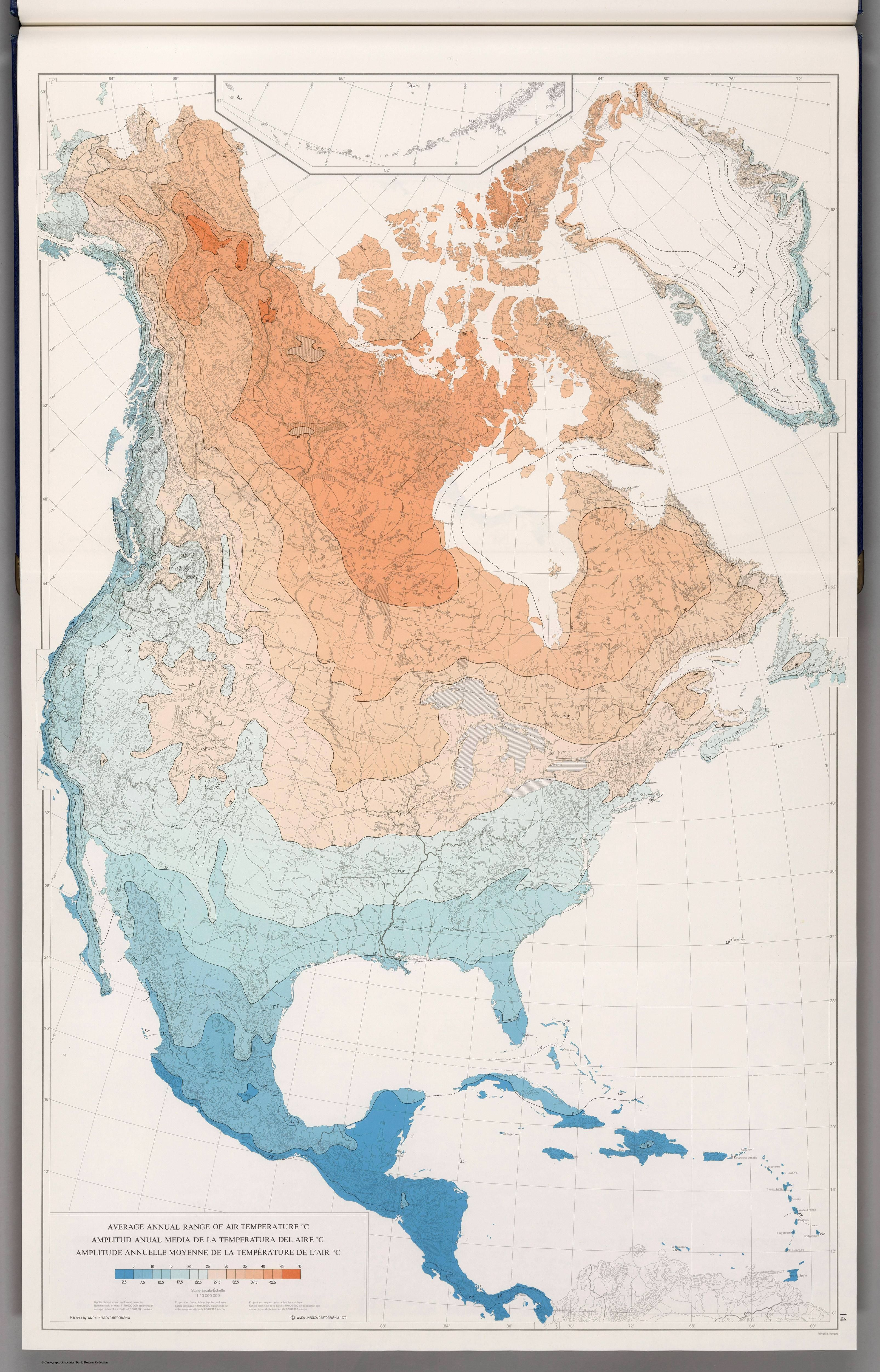 North america average annual range of air temperature c 1979 north america average annual range of air temperature c 1979 gumiabroncs Choice Image